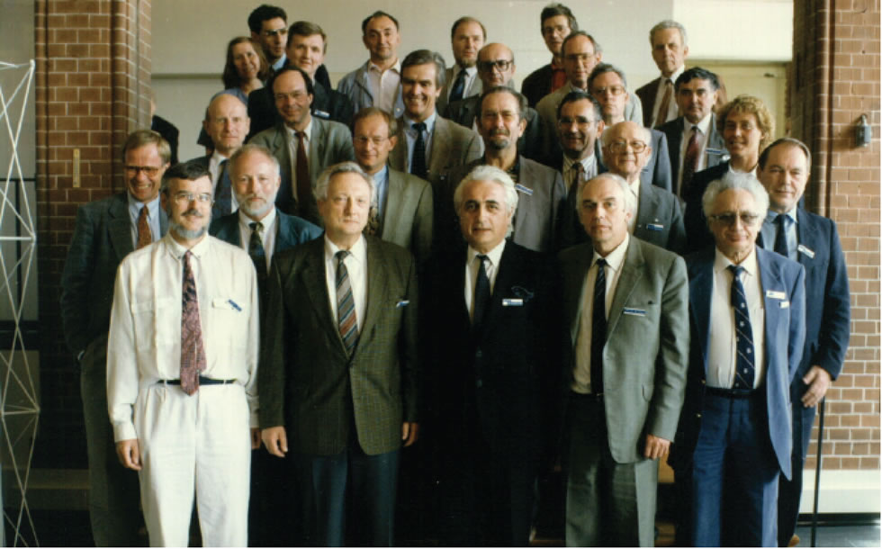 wn Inauguration photo from the association s founding in 1992
