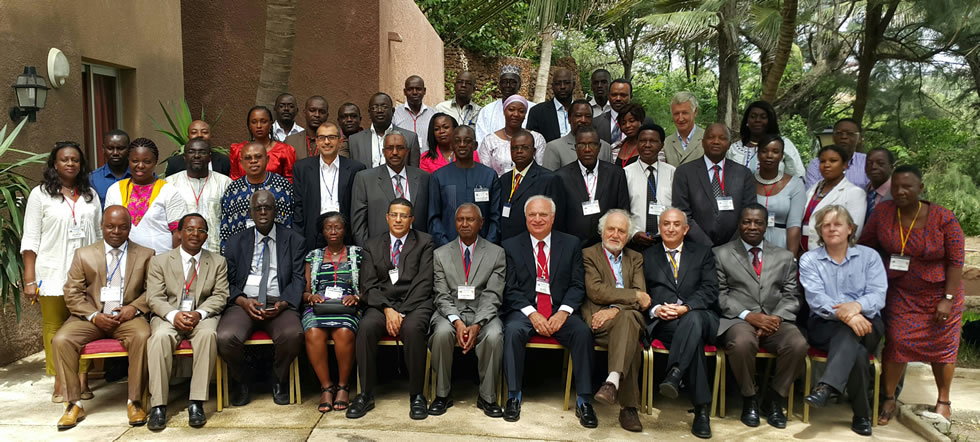 wn Inaugural meeting of the African Academy of Neurology in Dakar Senegal