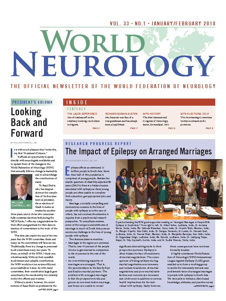 World Neurology - Jan/Feb 2018