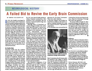 A Failed Bid to Revive the Early Brain Commission